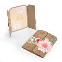 Sizzix Thinlits by Katelyn Lizardi Die Set 9PK - Card, Hello Friend Gatefold