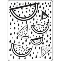Darice A2 Embossing Folder - Fruit
