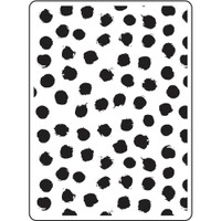 Darice A2 Embossing Folder - Blot Dot