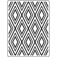 Darice A2 Embossing Folder - Diamond