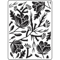 Darice A2 Embossing Folder - Flower Pod