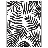 Darice A2 Embossing Folder - Ferns
