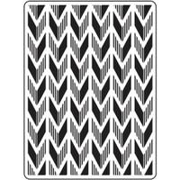 Darice A2 Embossing Folder - Arrow