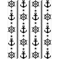 Darice A2 Embossing Folder - Nautical