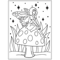 Darice A2 Embossing Folder - Fairy