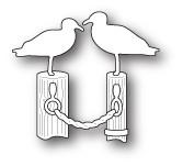 Memory Box Craft Die - Beachfront Seagulls