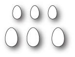 Memory Box Craft Die - Clutch of Eggs