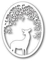Memory Box Craft Die - Deer Grove Oval