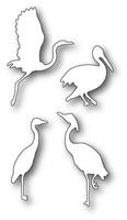 Memory Box Craft Die - Elegant Shorebirds