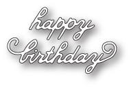 Memory Box Craft Die - Lovely Happy Birthday
