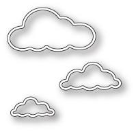 Memory Box Craft Die - Outline Cloud Trio