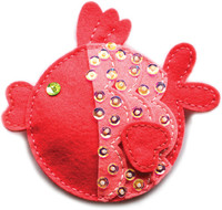 Memory Box Craft Die - Plush Funny Fish