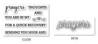 Memory Box Craft Stamps & Die Set - Perky Prayers