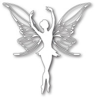 Memory PoppyStamps Die - Large Poised Faerie