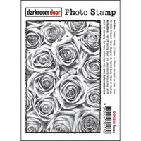 Darkroom Door Cling Stamp, Photo Stamp: Roses