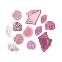 Simply Defined Dies and Stamps Set - Time and Tides Collection, Sea Shells