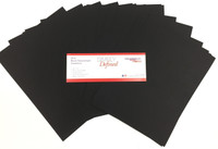 Simply Defined Heavy Weight 80lb Paper Pack - Smooth Black, 25 Sheets