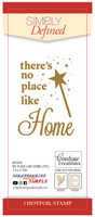 Simply Defined HotFoil Stamp - No Place Like Home