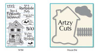 Dare 2B Artzy - Hunted House Stamp and Die Set