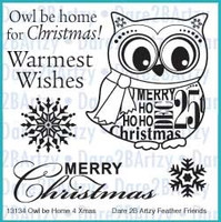 Dare 2B Artzy - Owl Be Home for Christmas