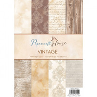 Wild Rose Studio, Papercraft House - Vintage