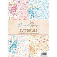 Wild Rose Studio, Papercraft House - Butterflies