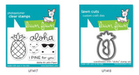 Lawn Fawn Clear Stamps and Dies Set - Aloha