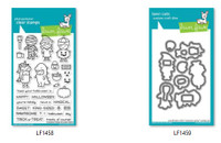 Lawn Fawn Clear Stamps and Dies Bundle - Costume Party