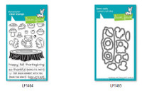Lawn Fawn Clear Stamps and Dies Bundle - Forest Feast