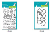 Lawn Fawn Clear Stamps and Dies Bundle - Here We Go A-Waddling