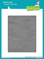 Lawn Fawn Dies - Stitched Woodgrain Backdrop