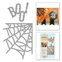 Spellbinders Die D-Lites - Boo Web