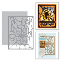 Spellbinders Shapeabilities By Classic SB - Spider Web Card Front