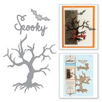 Spellbinders Shapeabilities By Classic SB - Spooky Tree