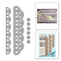 Spellbinders Shapeabilities By Marisa Job - Flower Lace Borders
