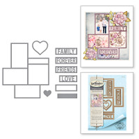 Spellbinders Shapeabilities By Marisa Job - Friends & Family Frames