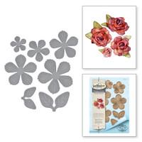 Spellbinders Shapeabilities By Marisa Job - Textured Flowers
