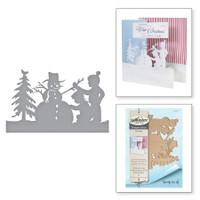 Spellbinders Shapeabilities By Sharyn Sowell - Building a Snowman
