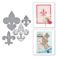 Spellbinders Shapeabilities Oh Lala Collection By Stacey Caron - Fleur de France