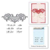 Spellbinders Stamp & Die By Stacey Caron - Scroll Banner