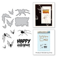 Spellbinders Stamp & Die Set By Stephanie Low - Happy Halloween