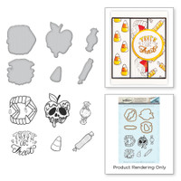Spellbinders Stamp & Die Set By Stephanie Low - Trick or Treat