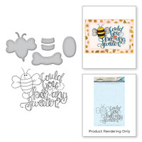 Spellbinders Stamp & Die Set By Tammy Tutterow - Bee Any Sweeter