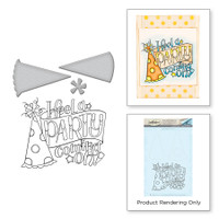 Spellbinders Stamp & Die Set By Tammy Tutterow - Party