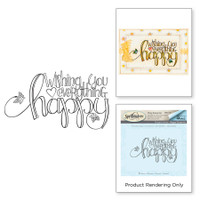 Spellbinders Stamps By Tammy Tutterow - Everything Happy