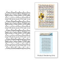 Spellbinders Stamps By Tammy Tutterow - Nothing But Love
