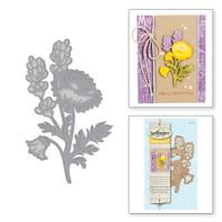 Spellbinders Die D-Lites - Poppy & Lavender Spray