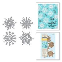 Spellbinders Die D-Lites - Snowflakes