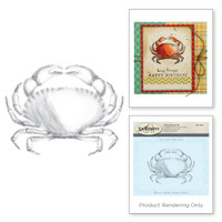 Spellbinders 3D Shading Stamps - Crab