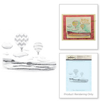 Spellbinders 3D Shading Stamps - Hot Air